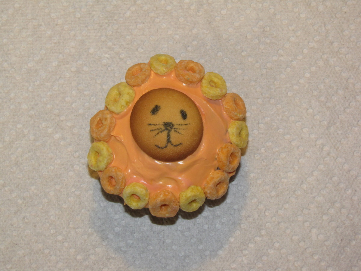 Lion themed edible crafts can be used with a wide variety of Bible stories and themes.