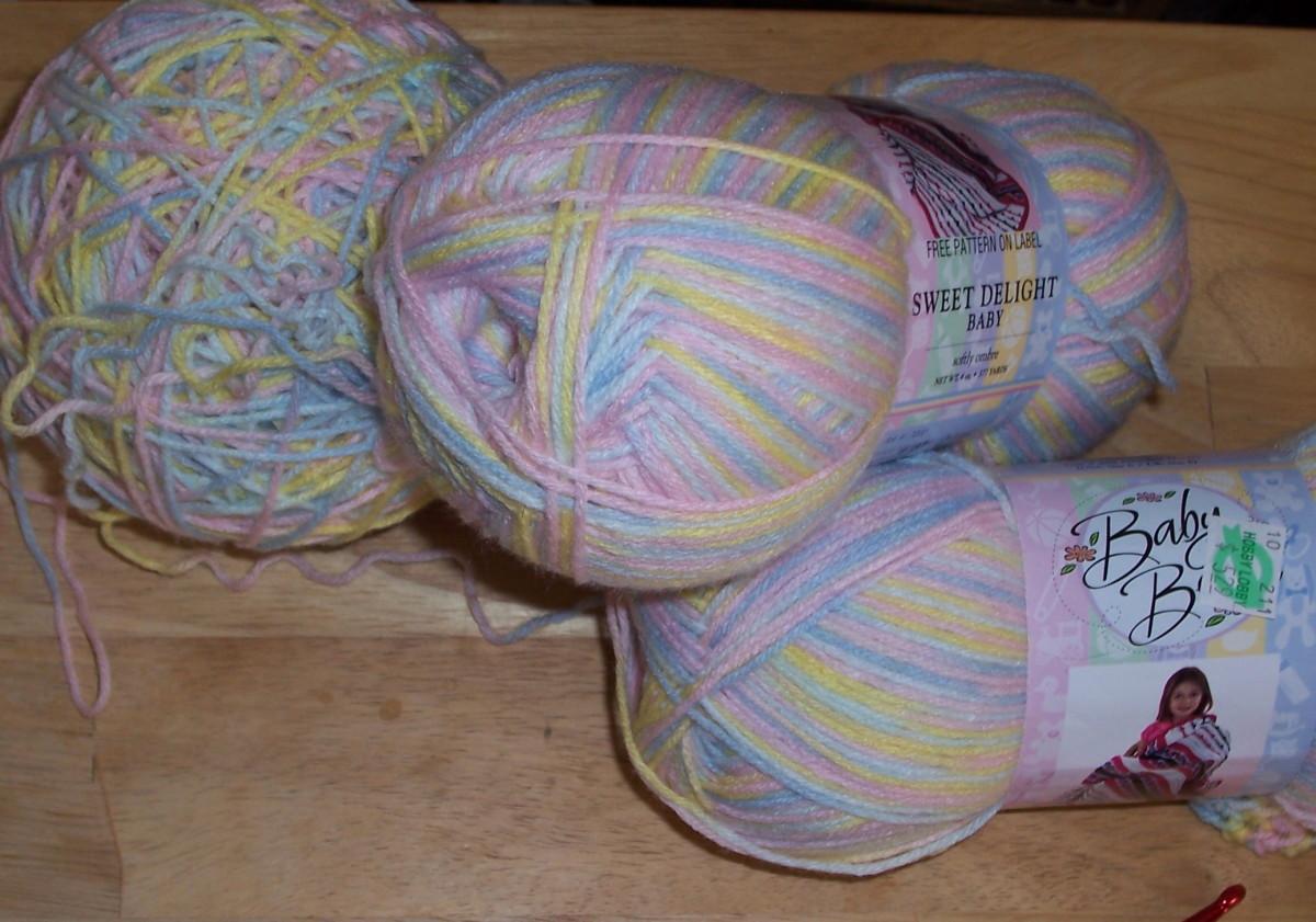 Crochet Pattern for a Light Easy Summer Baby Blanket