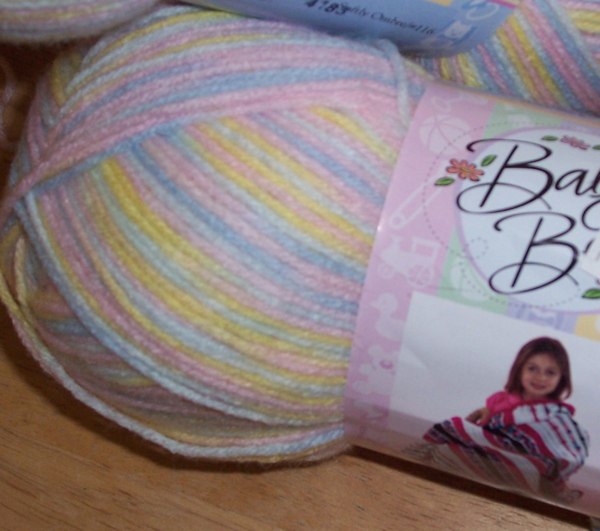 Baby Bee Yarn, Softly Ombre.