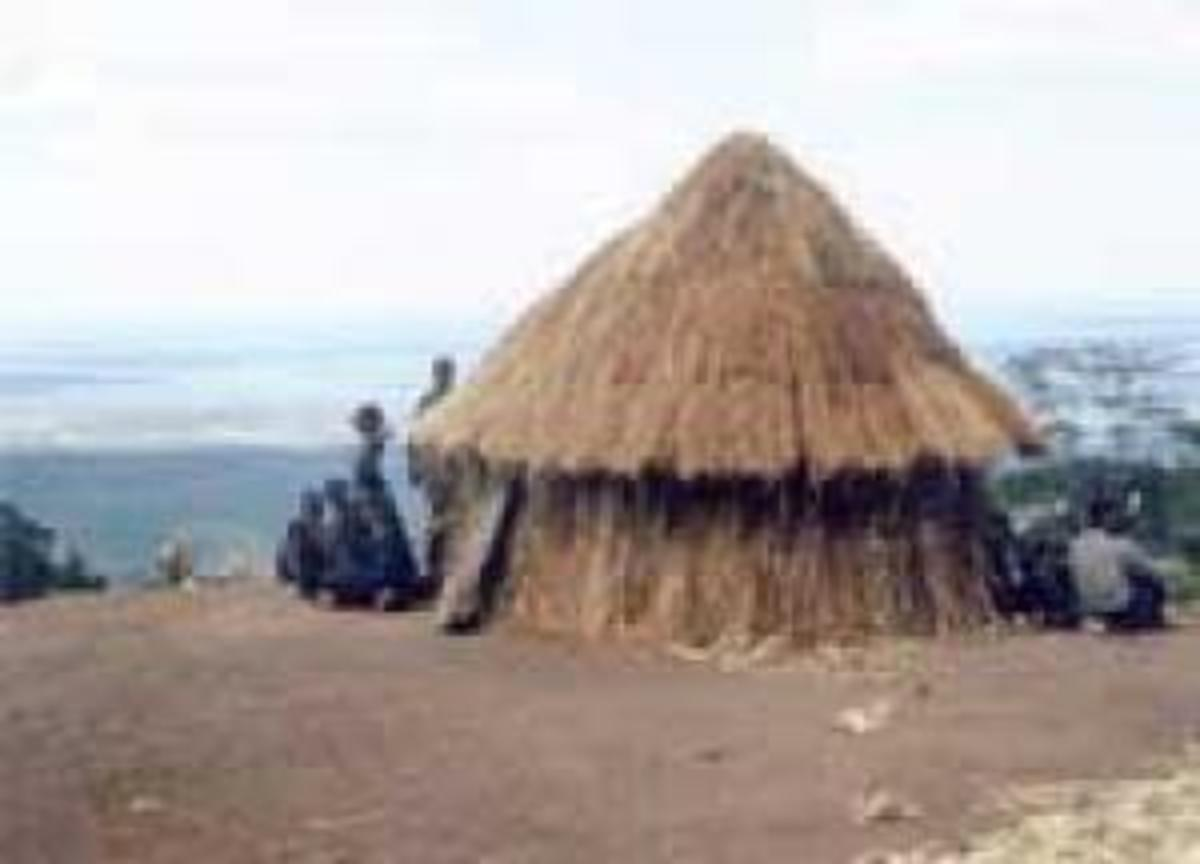 A Doma hut