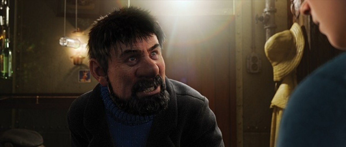 A still of Captain Haddock
