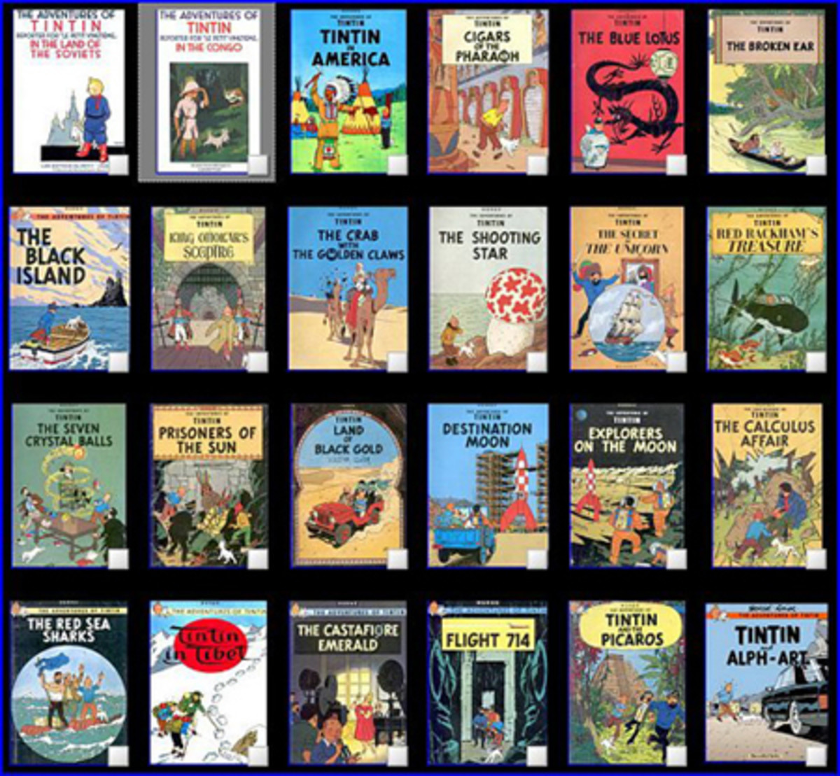 The complete Tintin collection