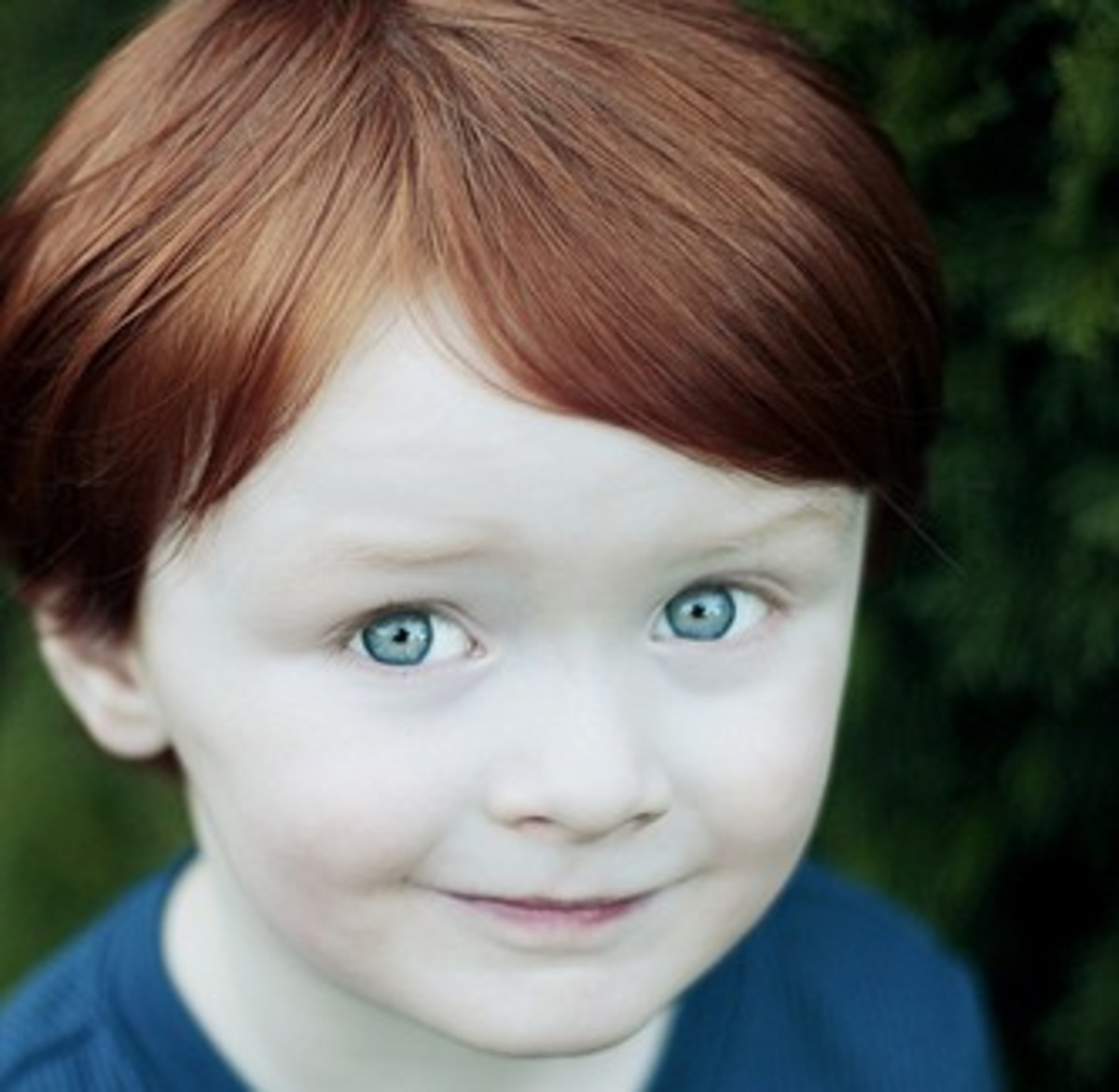 Short, Red Hair