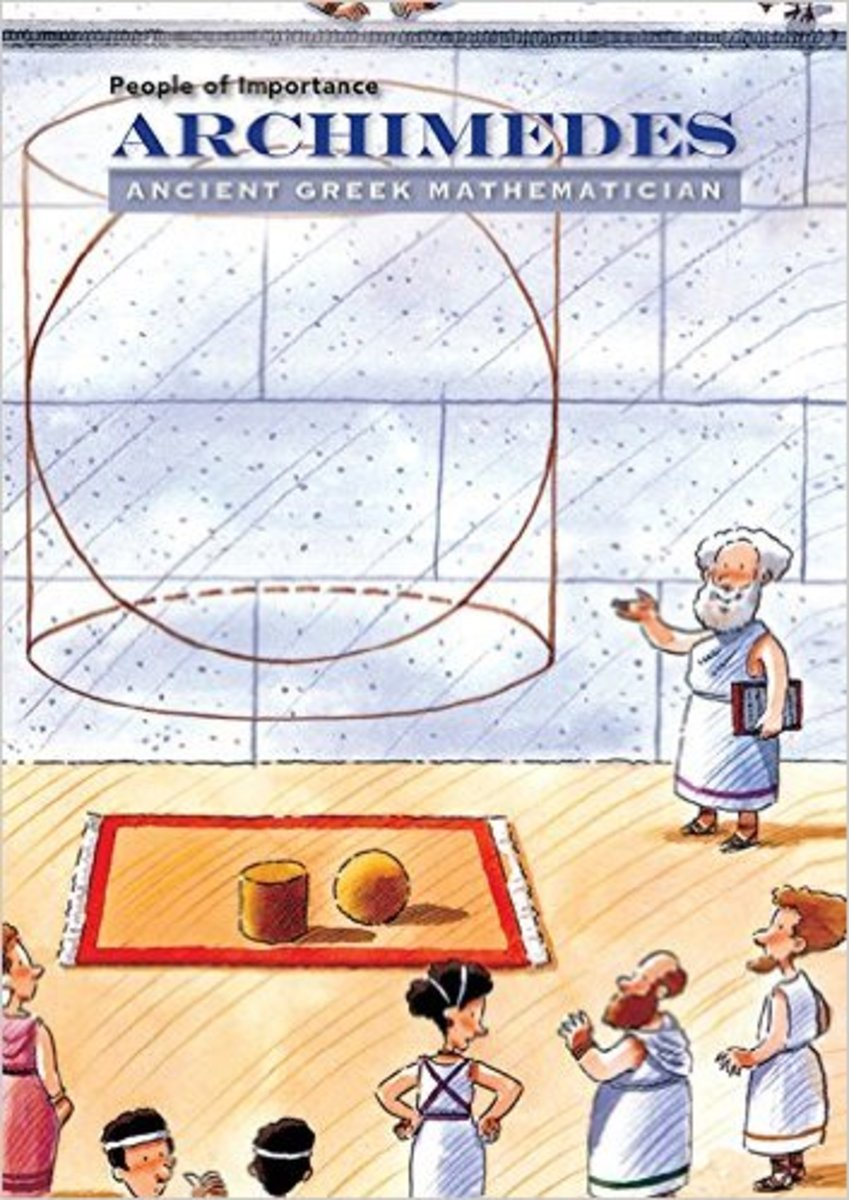 Archimedes: Ancient Greek Mathematician by Susan Katz Keating - Image credit: amazon.com