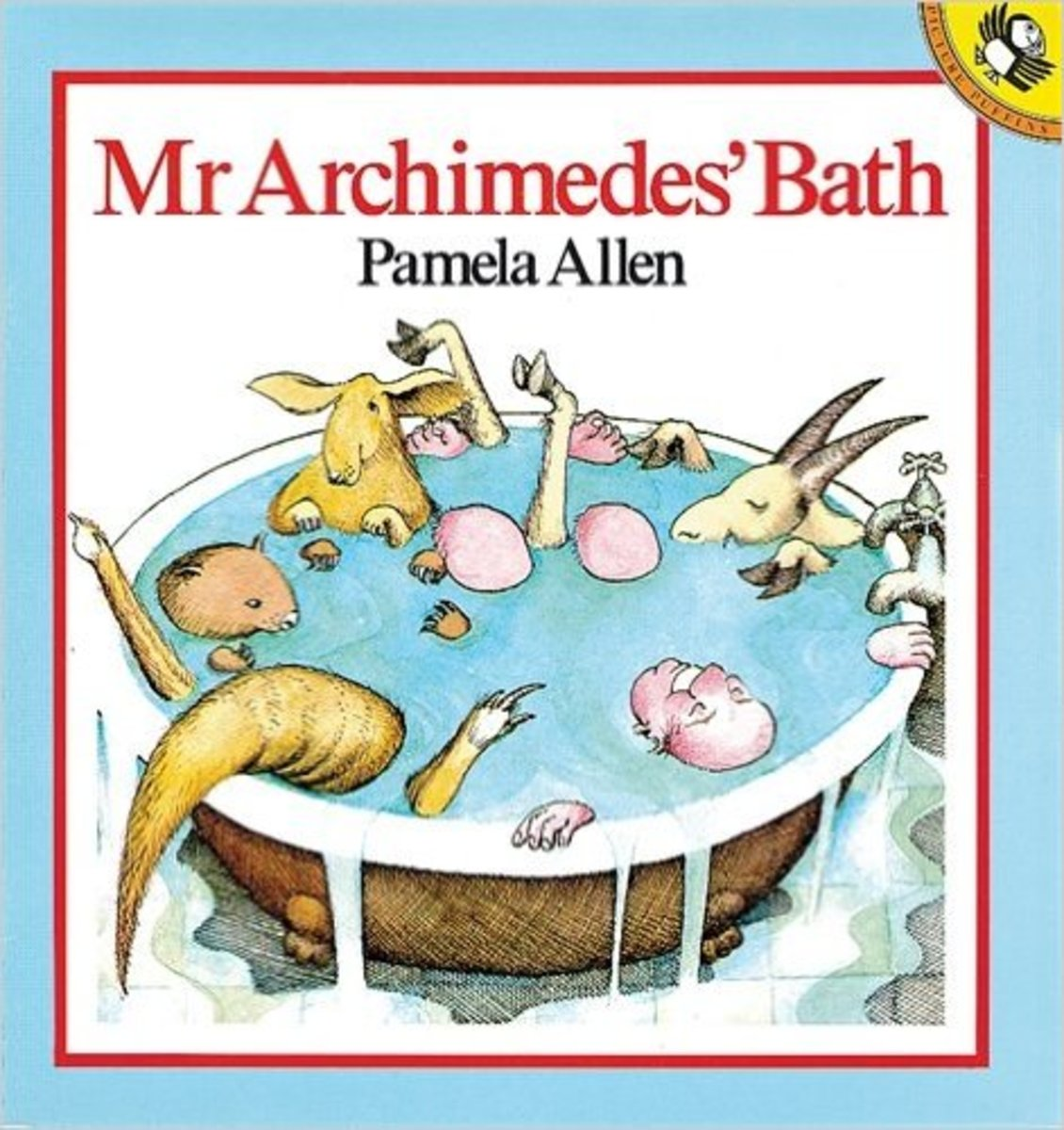 Mr. Archimedes' Bath by Pamela Allen