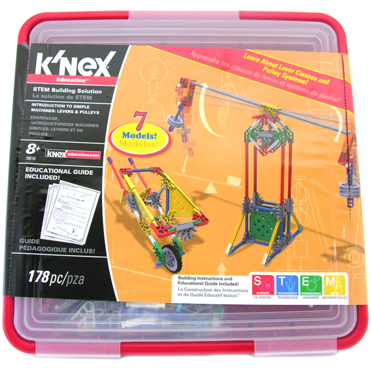 K'NEX Education - Intro To Simple Machines: Levers and Pulleys - Image credit: amazon.com