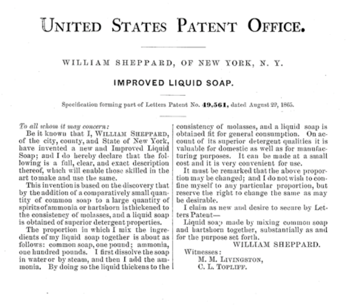 Specification forming part of Letters Patent No. 49,561, dated August 22, 1865.