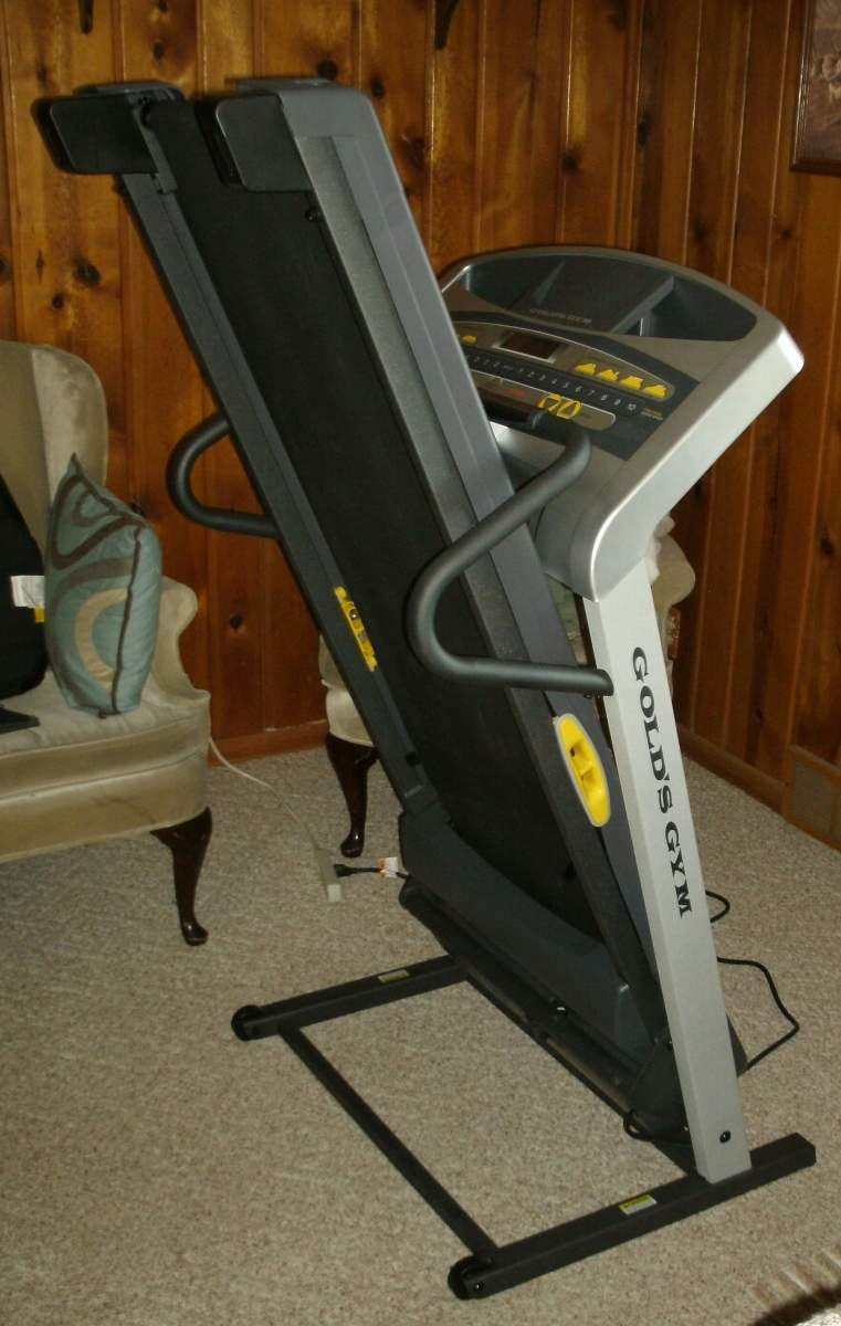 Gold S Gym Trainer 480 Upright Position