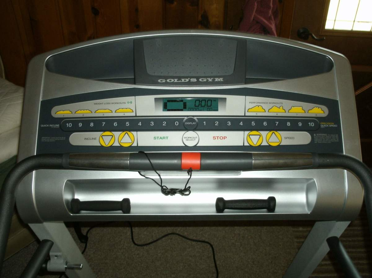 Gold's Gym Cardio Equipment Parts & Accessories for sale ...