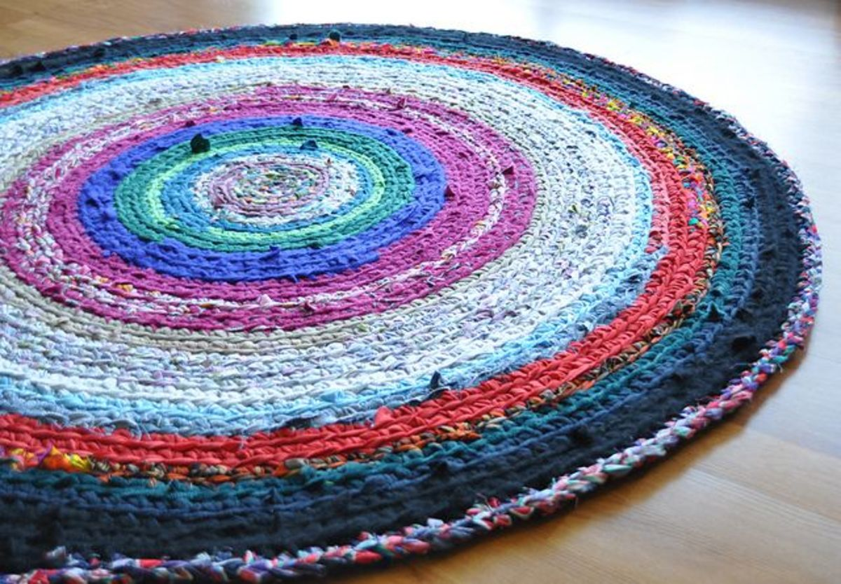 Crocheting Rag Rug Instructions : 100 Free Crochet Patterns For Beginners Learn How To Crochet Fun ...