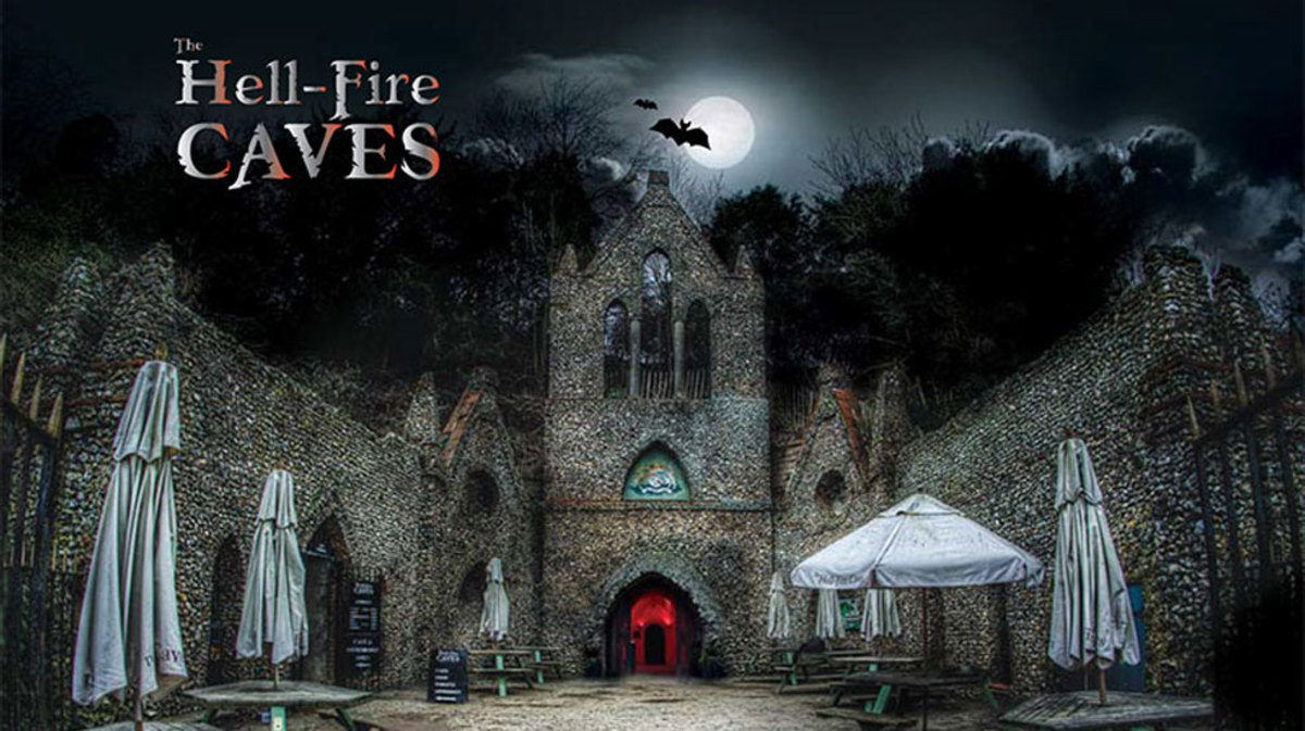#Hellfirecaves High Wycombe Hell Fire Caves