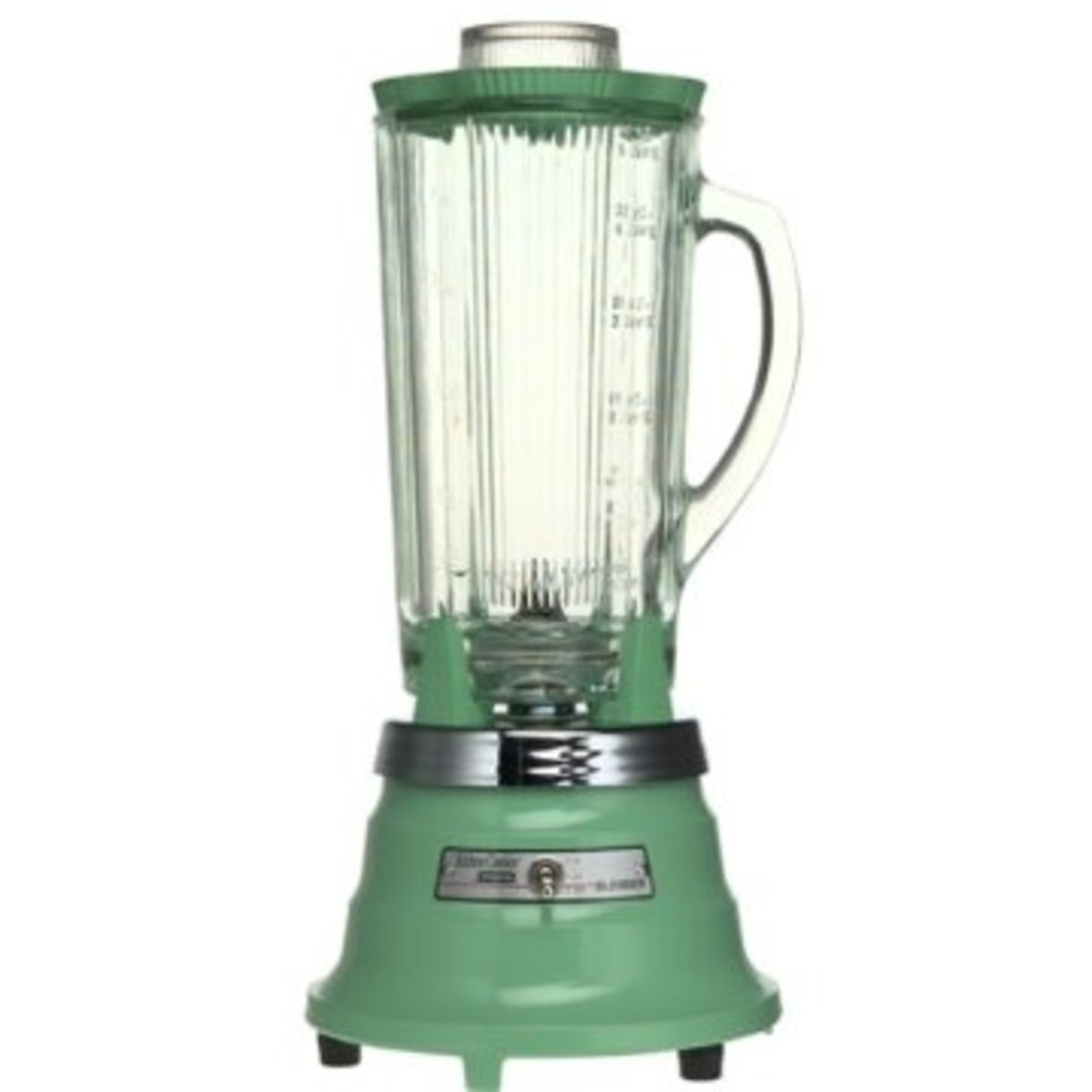 Waring modern blender in retro green