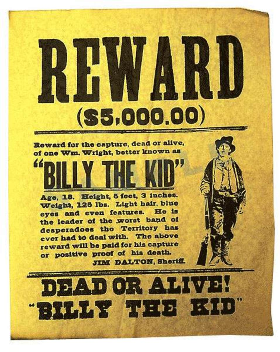 Pretend Wanted Poster