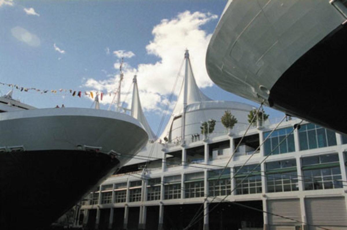 Canada Place Cruise Terminal