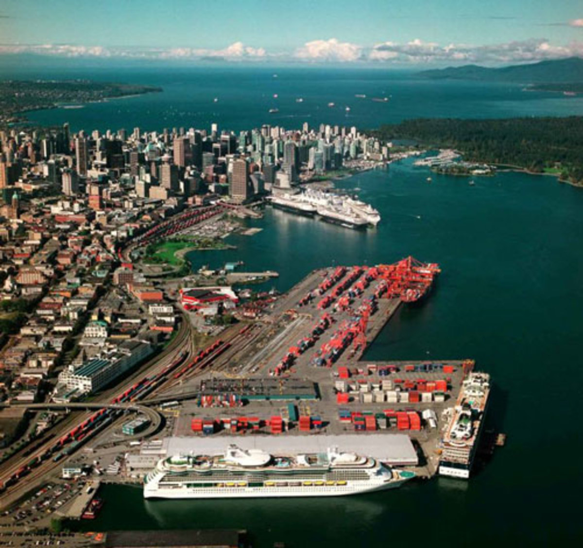 Vancouver Cruise Terminals