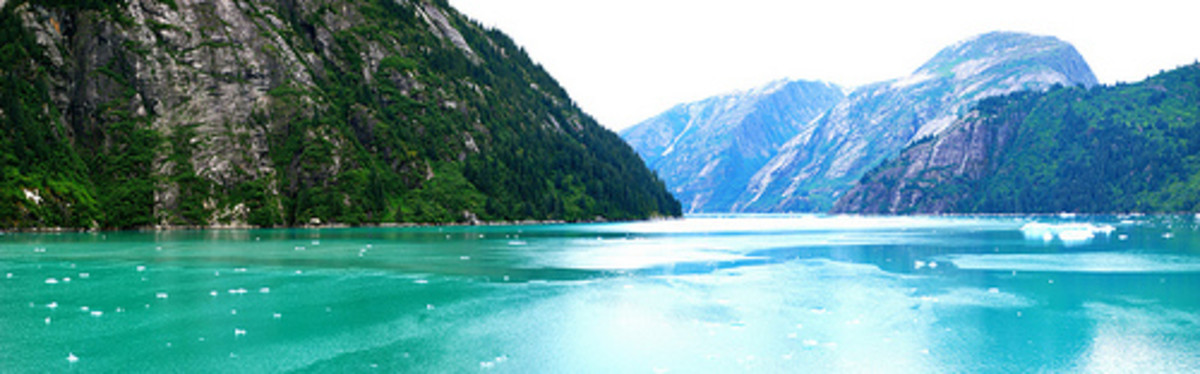 The spectacular Tracy Arm Fjord