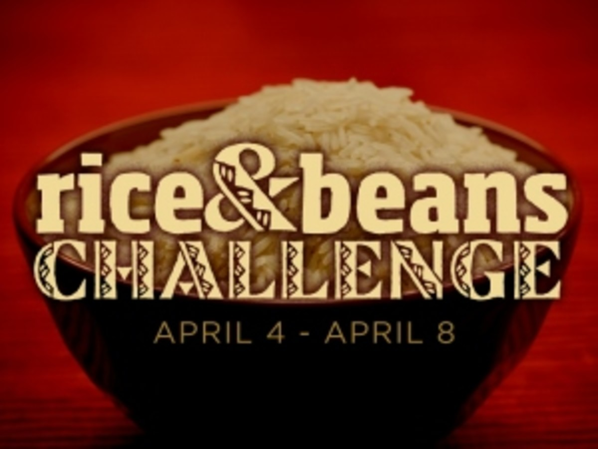 The Rice and Beans Challenge: Experiencing A Taste of Poverty