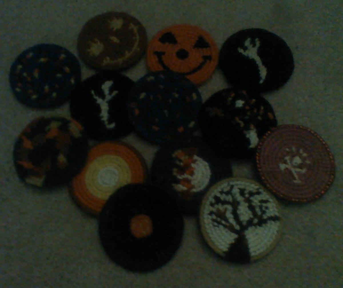 """Halloween Booty"" crafted for my daughter's Kindergarten class."