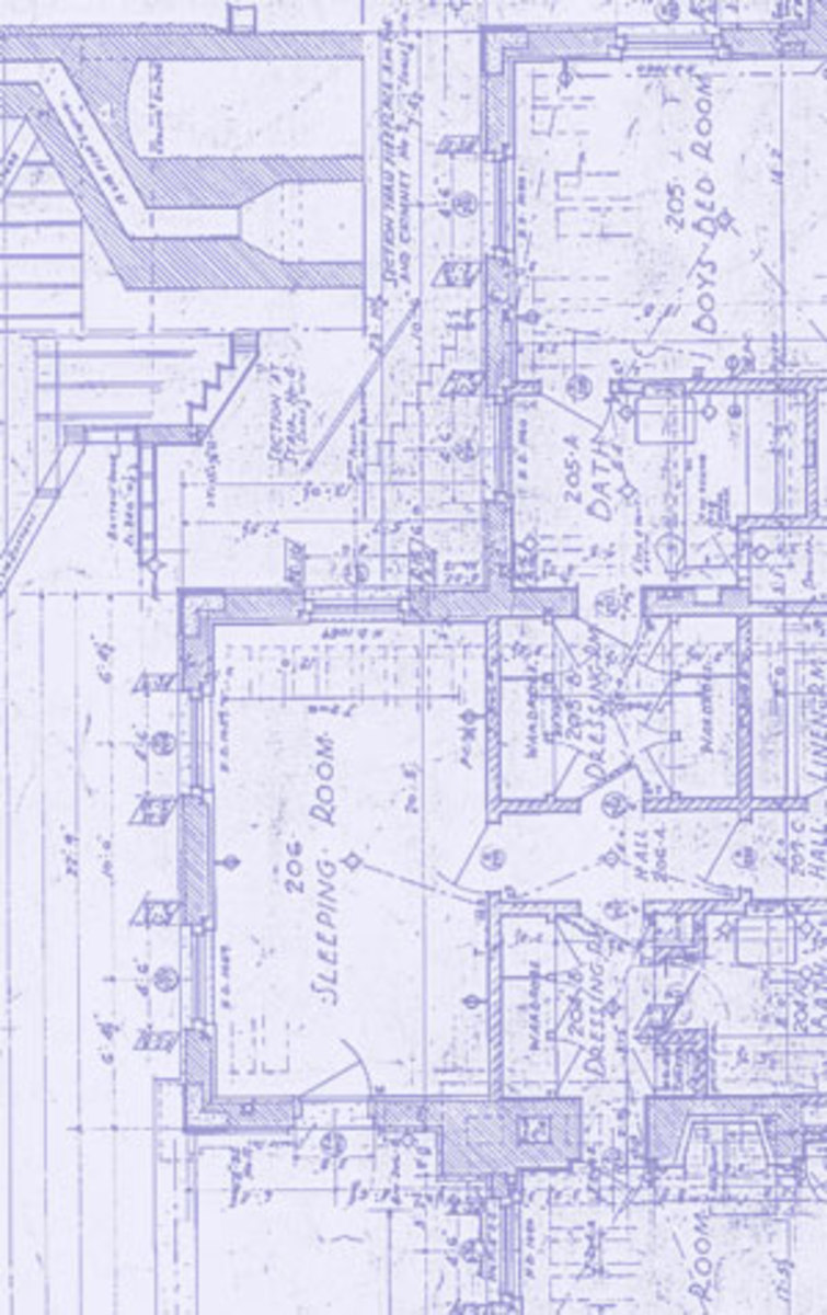 Architecture plan copying why blueprints arent blue now hubpages this is a photoshop simulation of a blueline it looks like its a negative of malvernweather Image collections