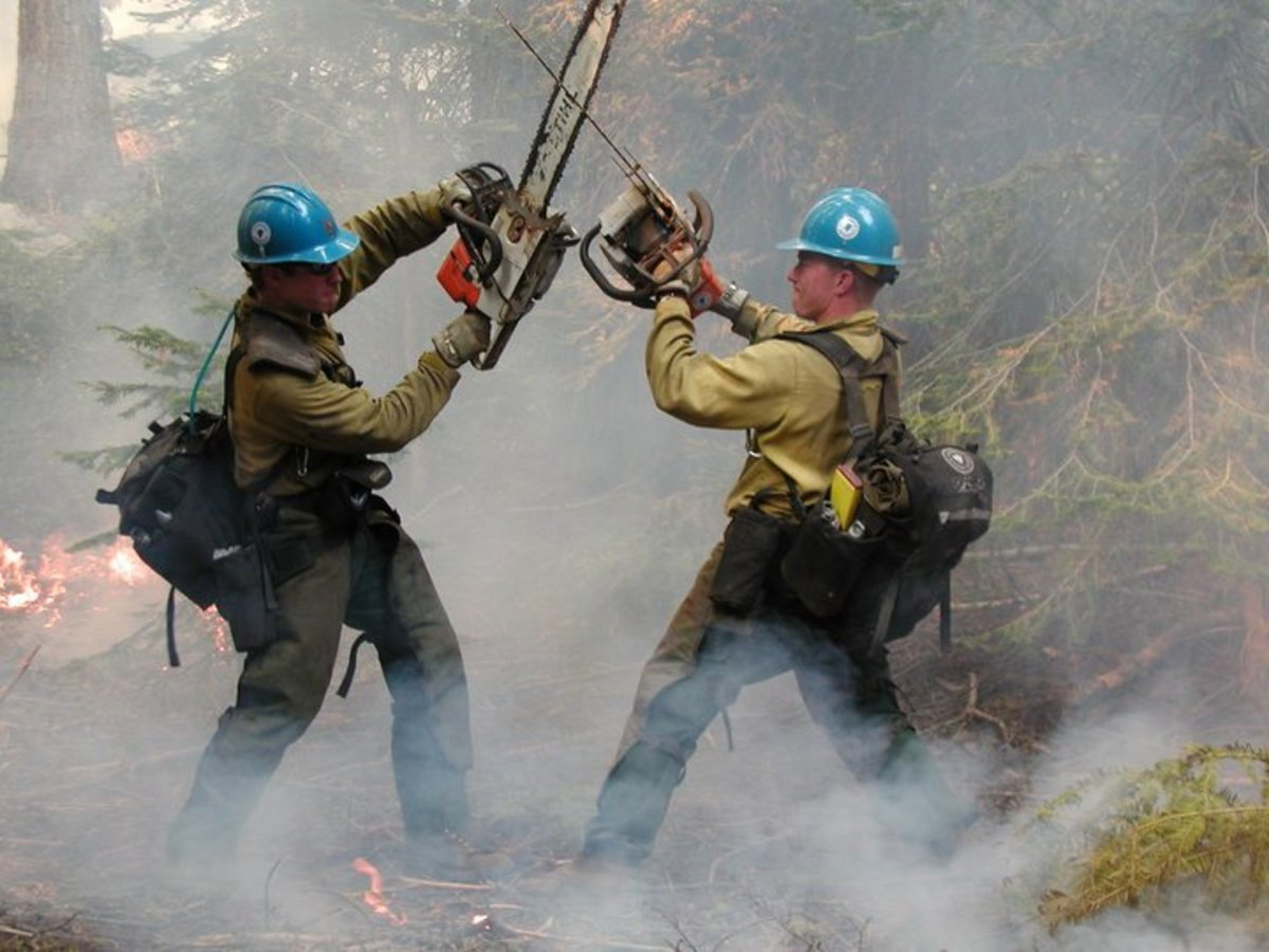 How To Become A Hotshot Firefighter--A Job In The Wildland!