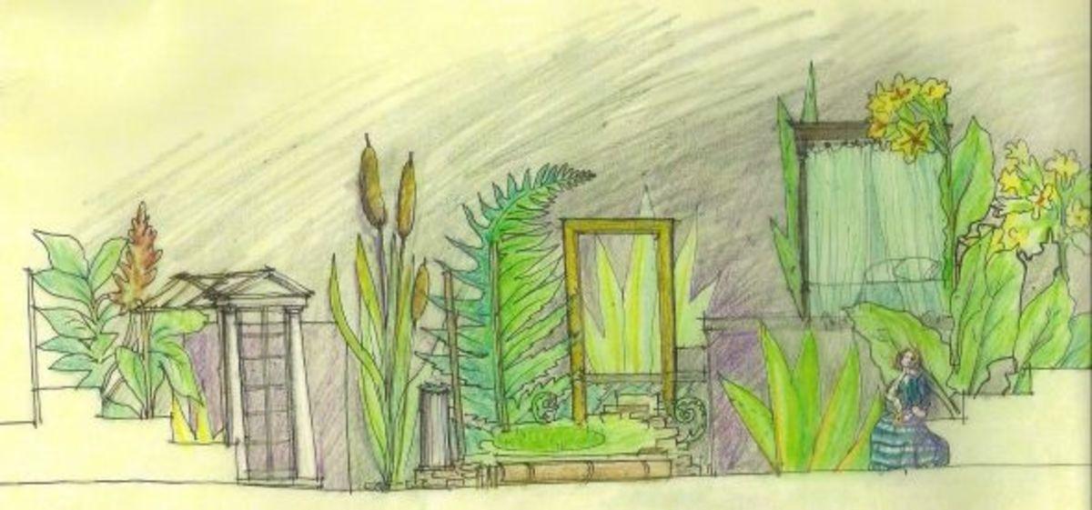 set designer - Clare Floyd DeVries