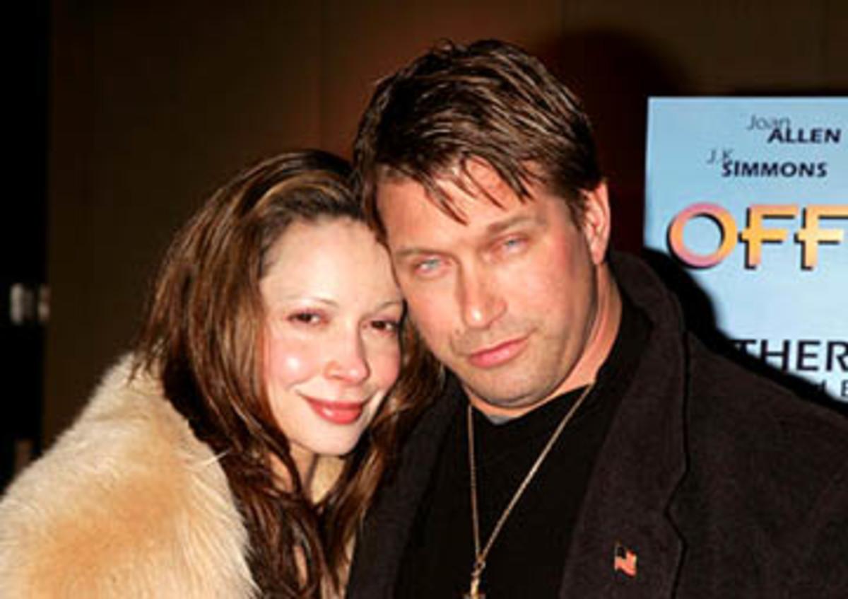 Kennya and Stephen Baldwin