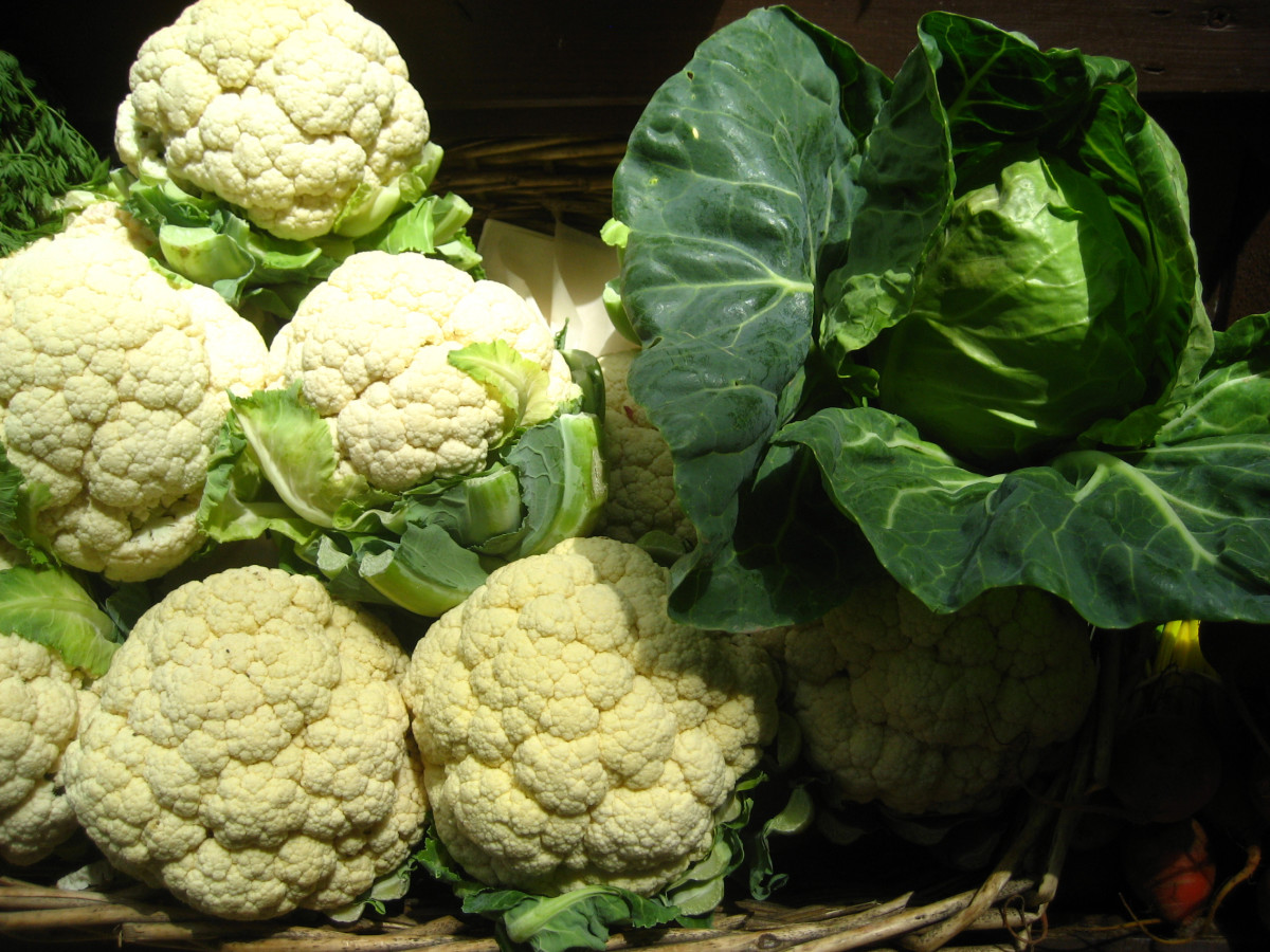 Cabbage, cauliflower and broccoli are some vegetables that may cause gas and lead to bloating