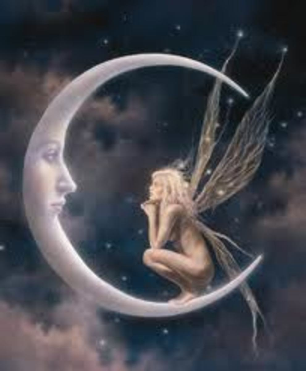 David Delamare's Moon Fairy