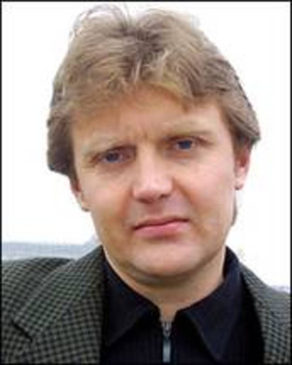 Litvinenko, the former Russian KGB killed by polonium poison.