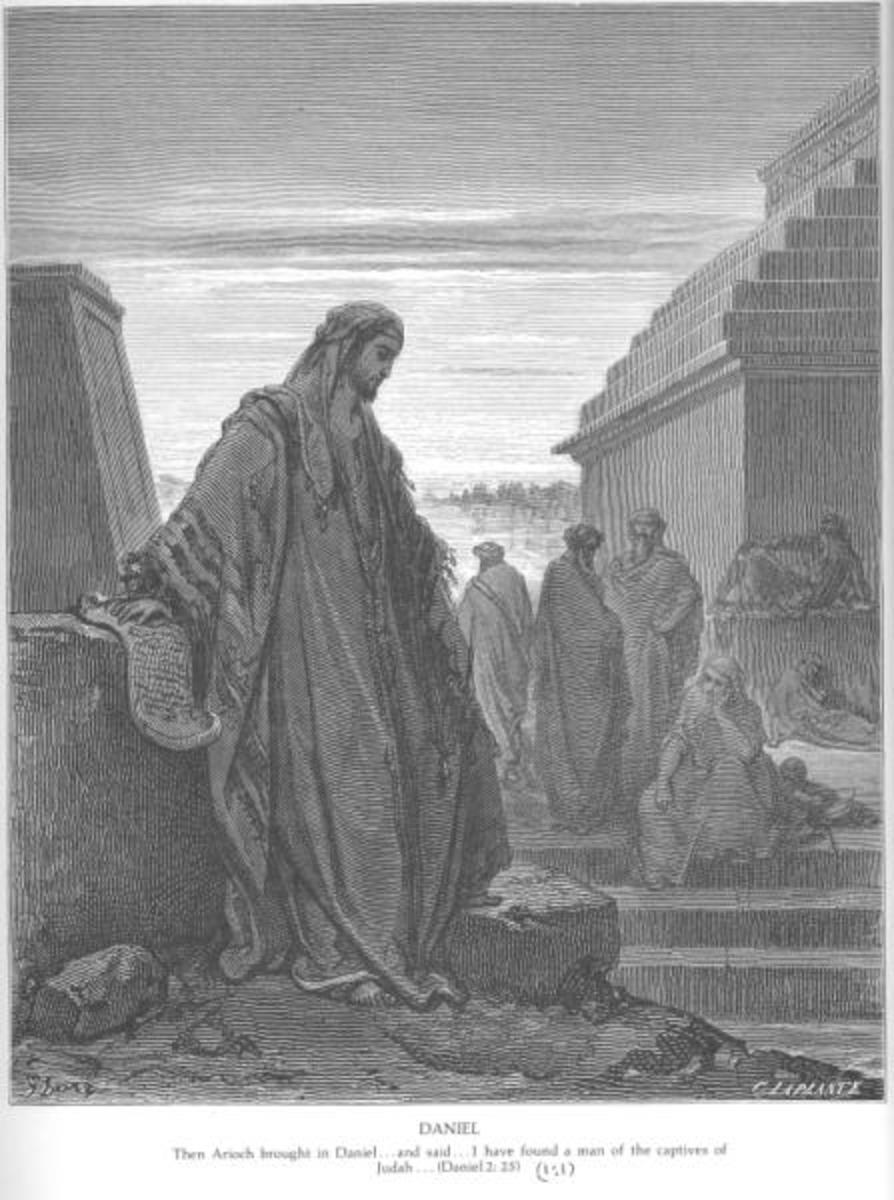 Daniel among the Exiles, Gustave Doré (1832-1883)