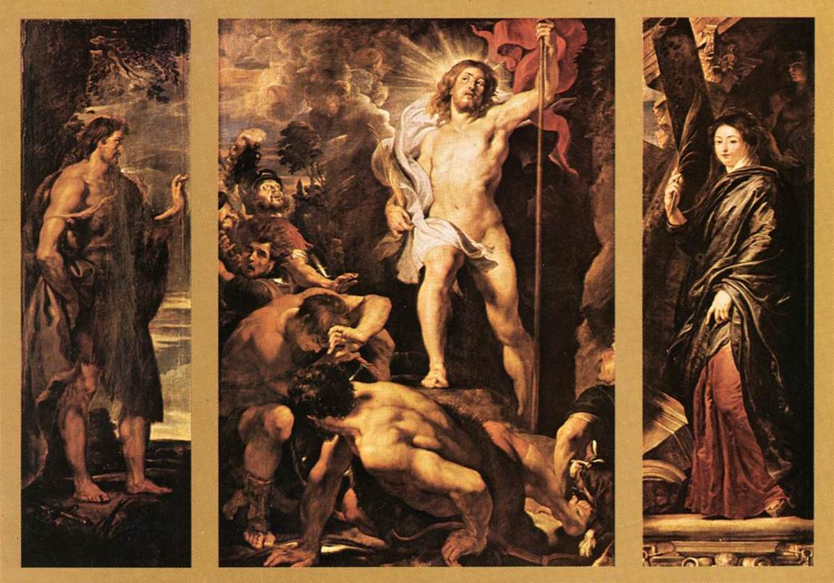 The  Resurrection of Christ, Peter Paul Rubens (1577-1640)