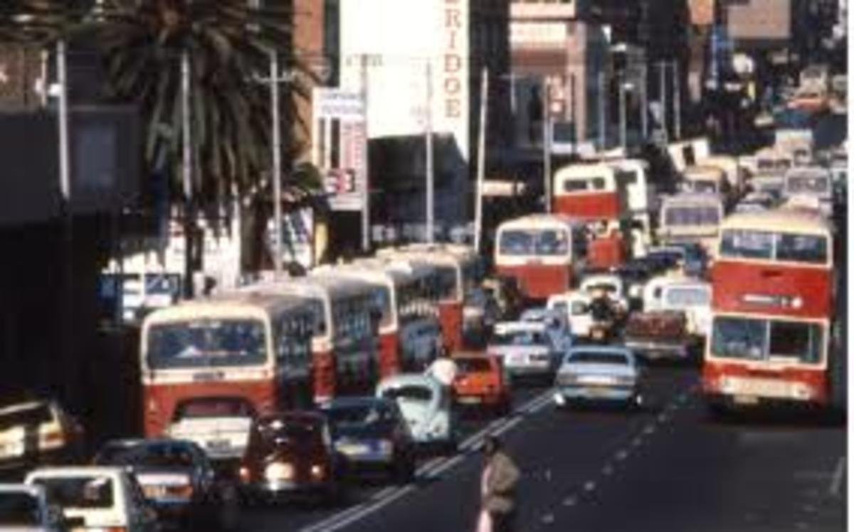 Many people used the Pretoria City buses