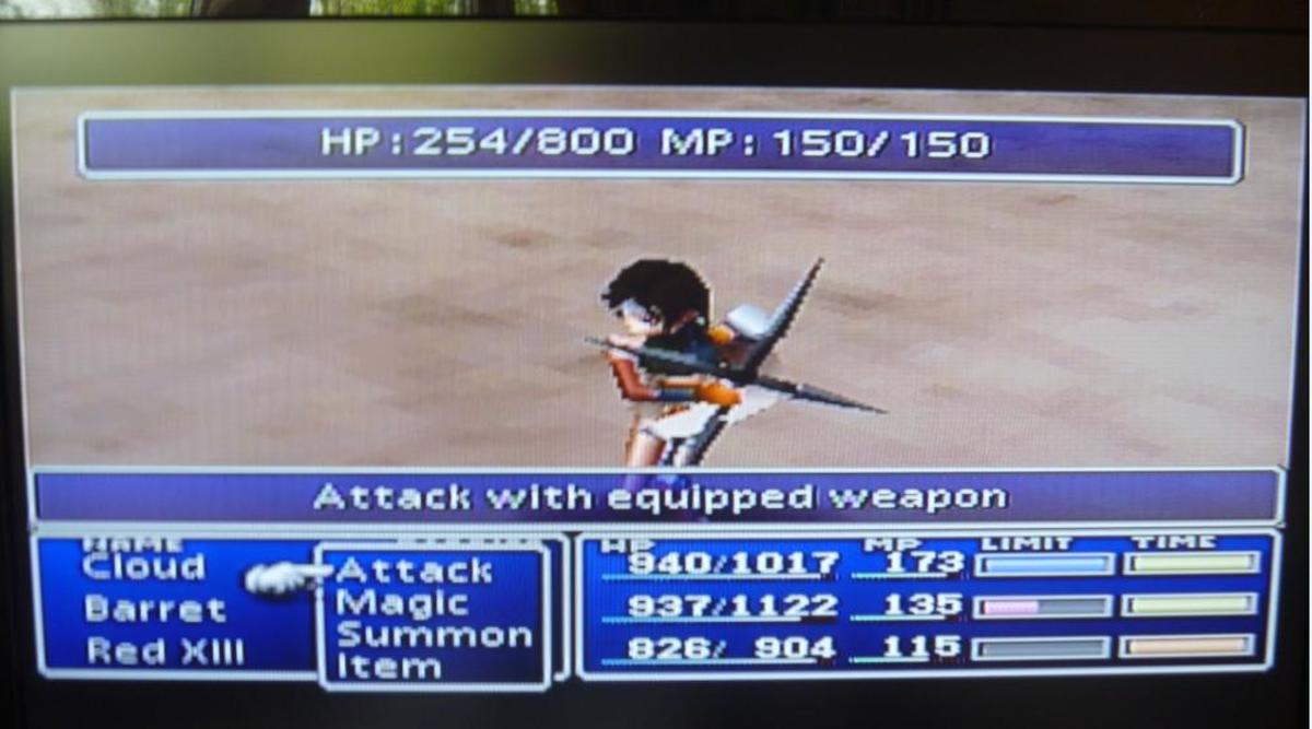 Mystery Ninja is Yuffie.