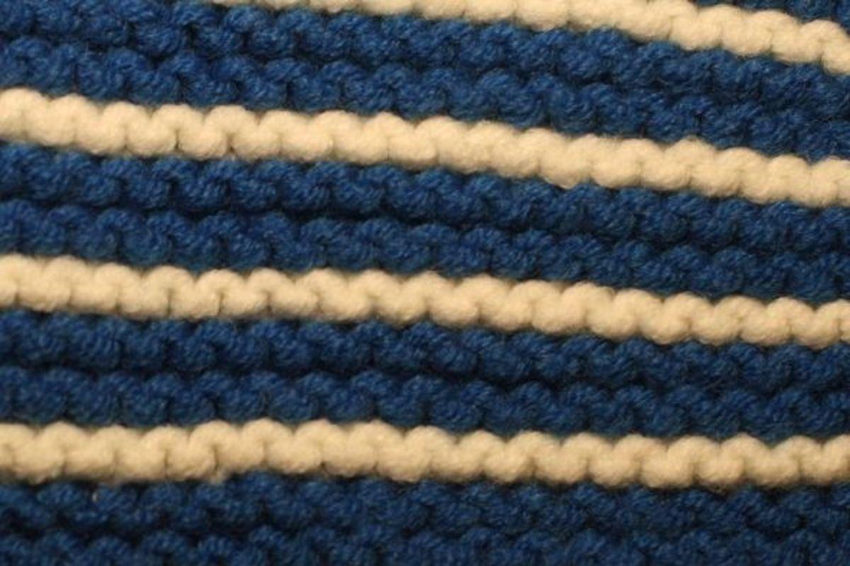 Garter Stitch Example