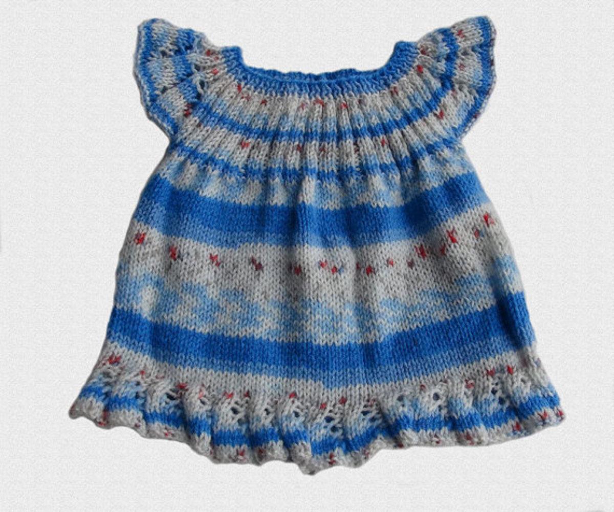 Newborn Knitted Dress