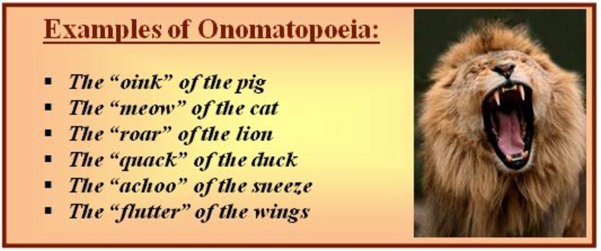 Onomatoepia example