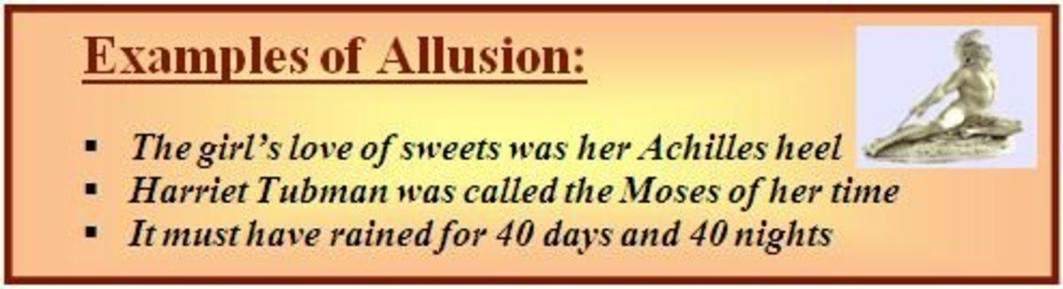 Allusion example