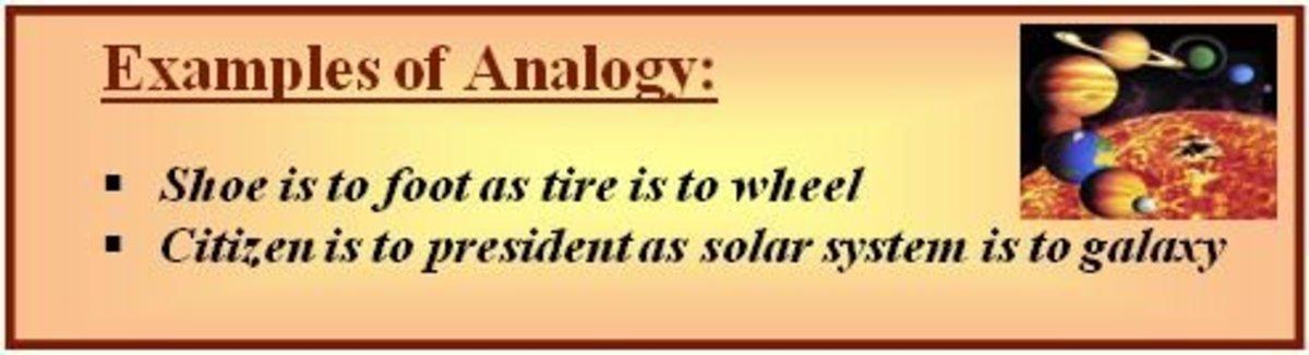 Analogy example