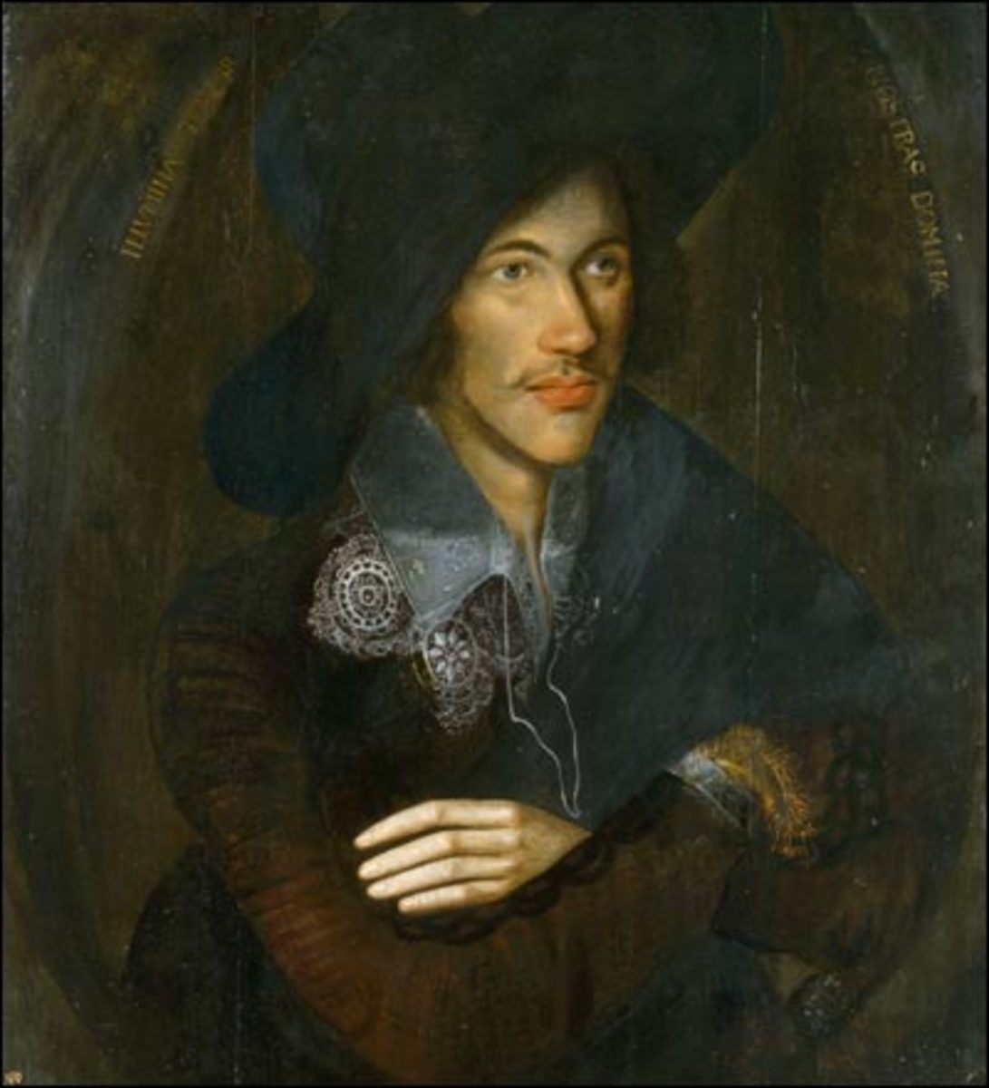 Portrait of John Donne; By Paul Haymon at en.wikipedia [Public domain], from Wikimedia Commons