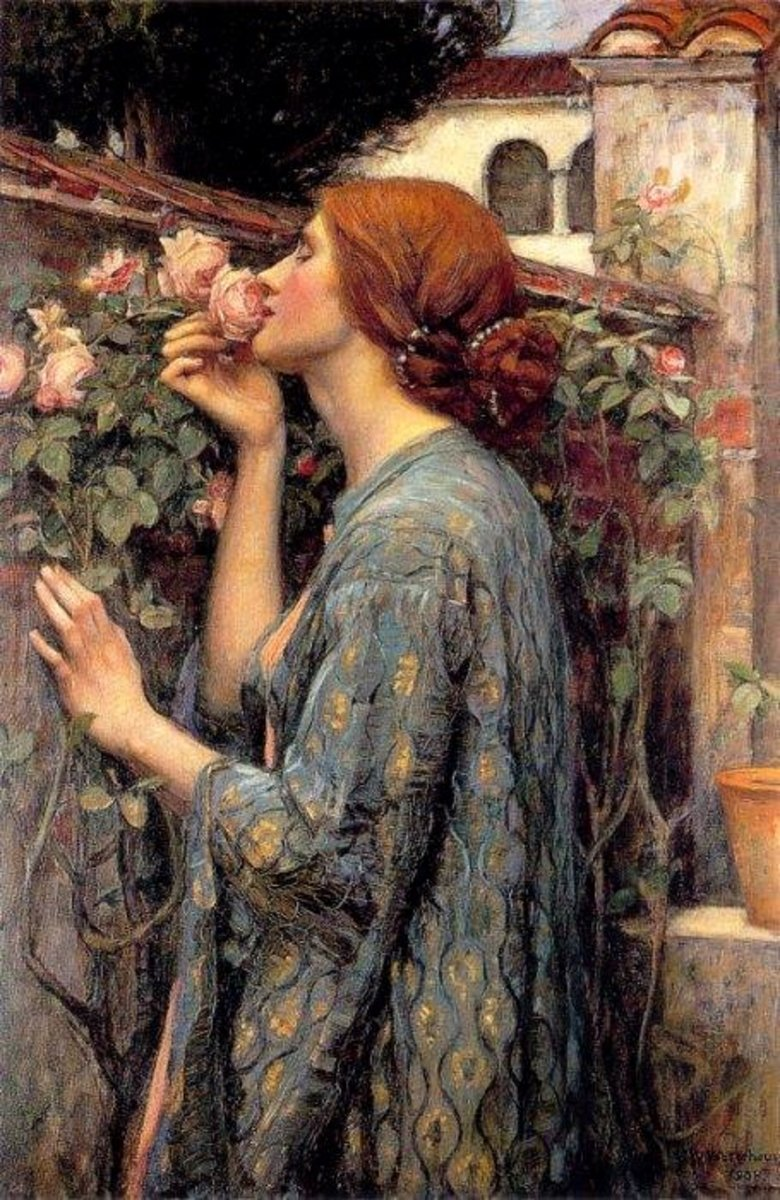 The Soul of the Rose; By John William Waterhouse [Public domain], via Wikimedia Commons