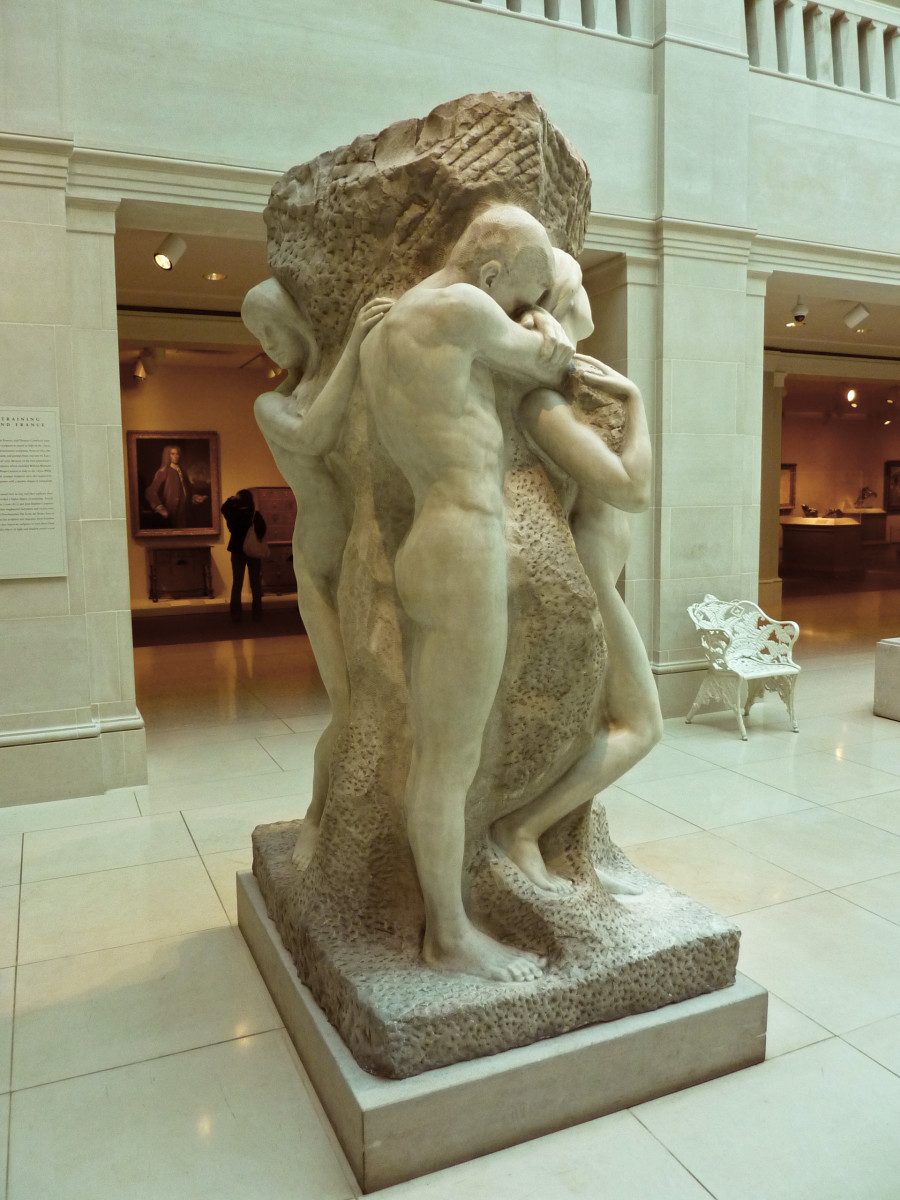 Solitude of the Soul; By artwork: Lorado Taft; file: James Steakley (artwork: Art Institute of Chicago) [Public domain], via Wikimedia Commons
