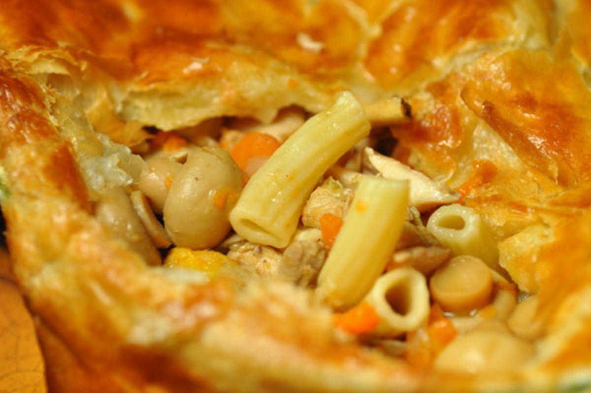 Chicken Macaroni Pie Image:  Siu Ling Hui