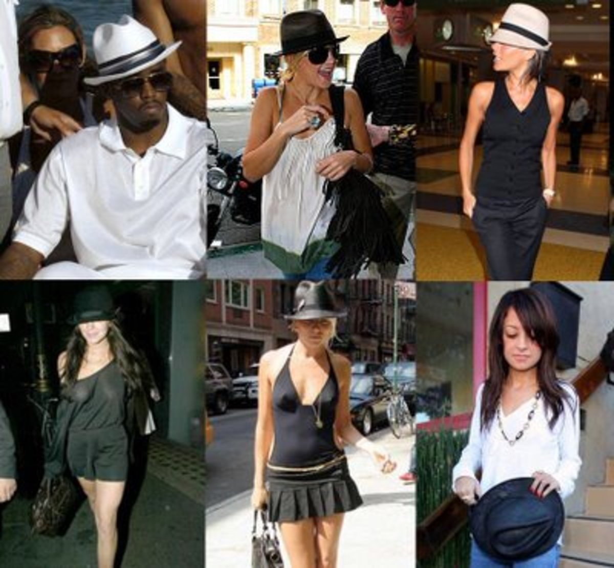 One of the easiest ways to rock the fedora is by pairing it with neutrals. Try it today!