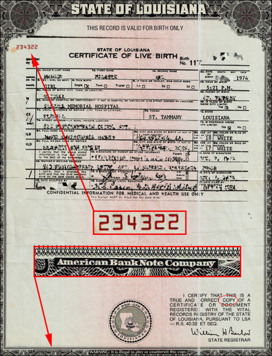 Cash In On Your U.S. Birth Certificate!! | HubPages