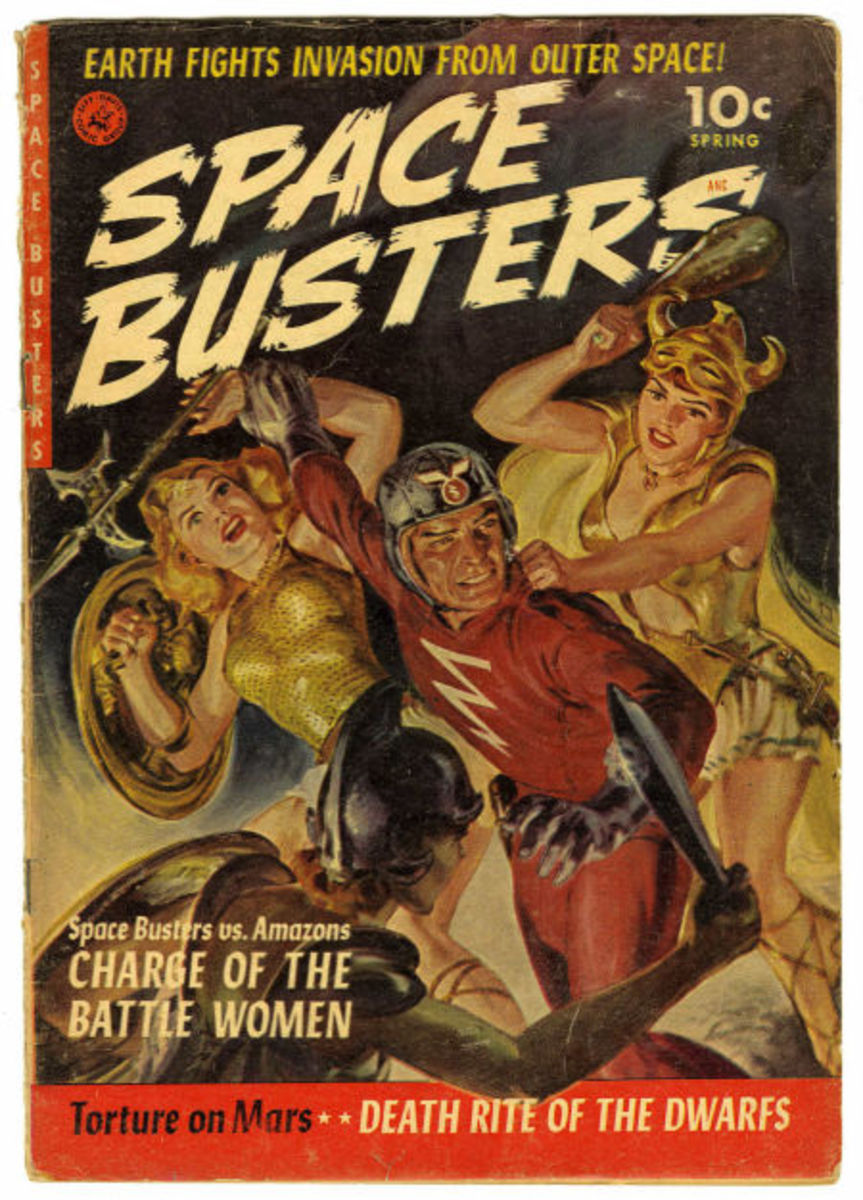Space Busters #1 (Ziff-Davis, 1952)