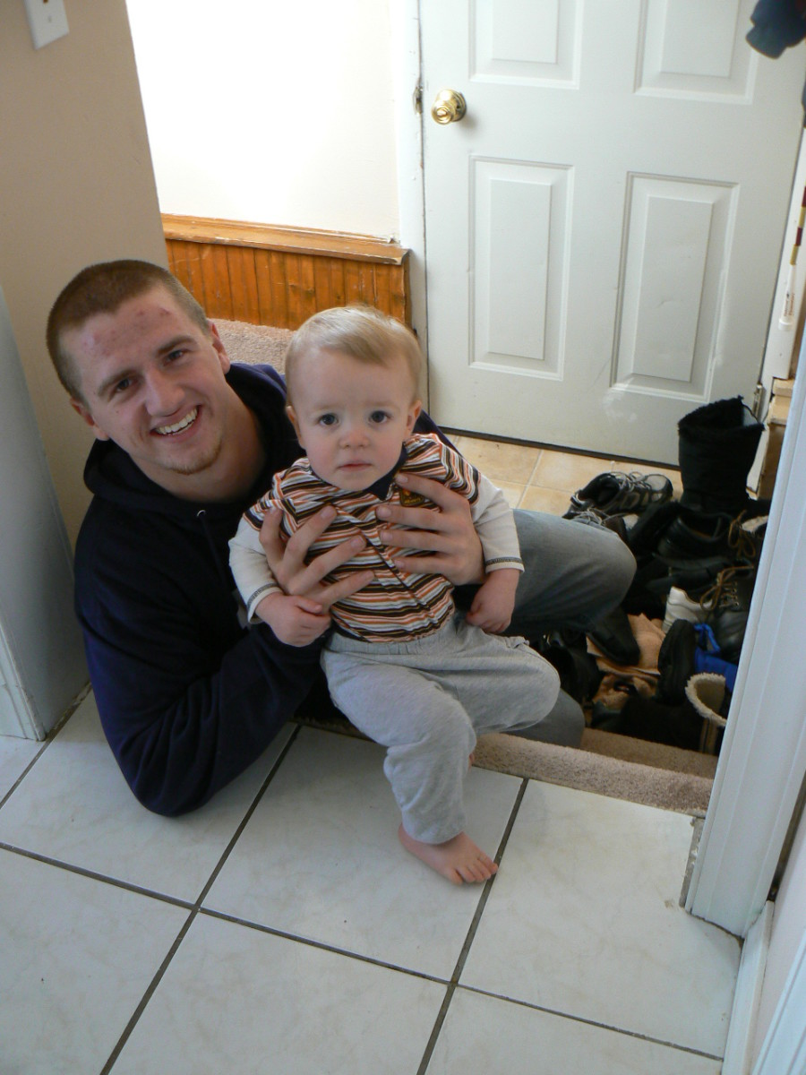 In order to teach babies how to go down the stairs, we need to be on the stairway with them.
