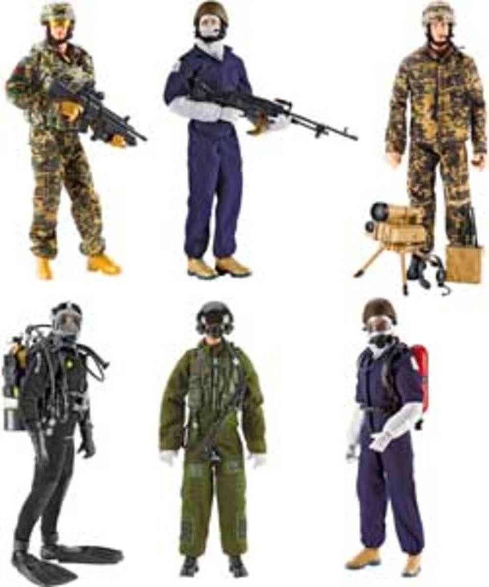 HM Armed Forces Equipment Sets