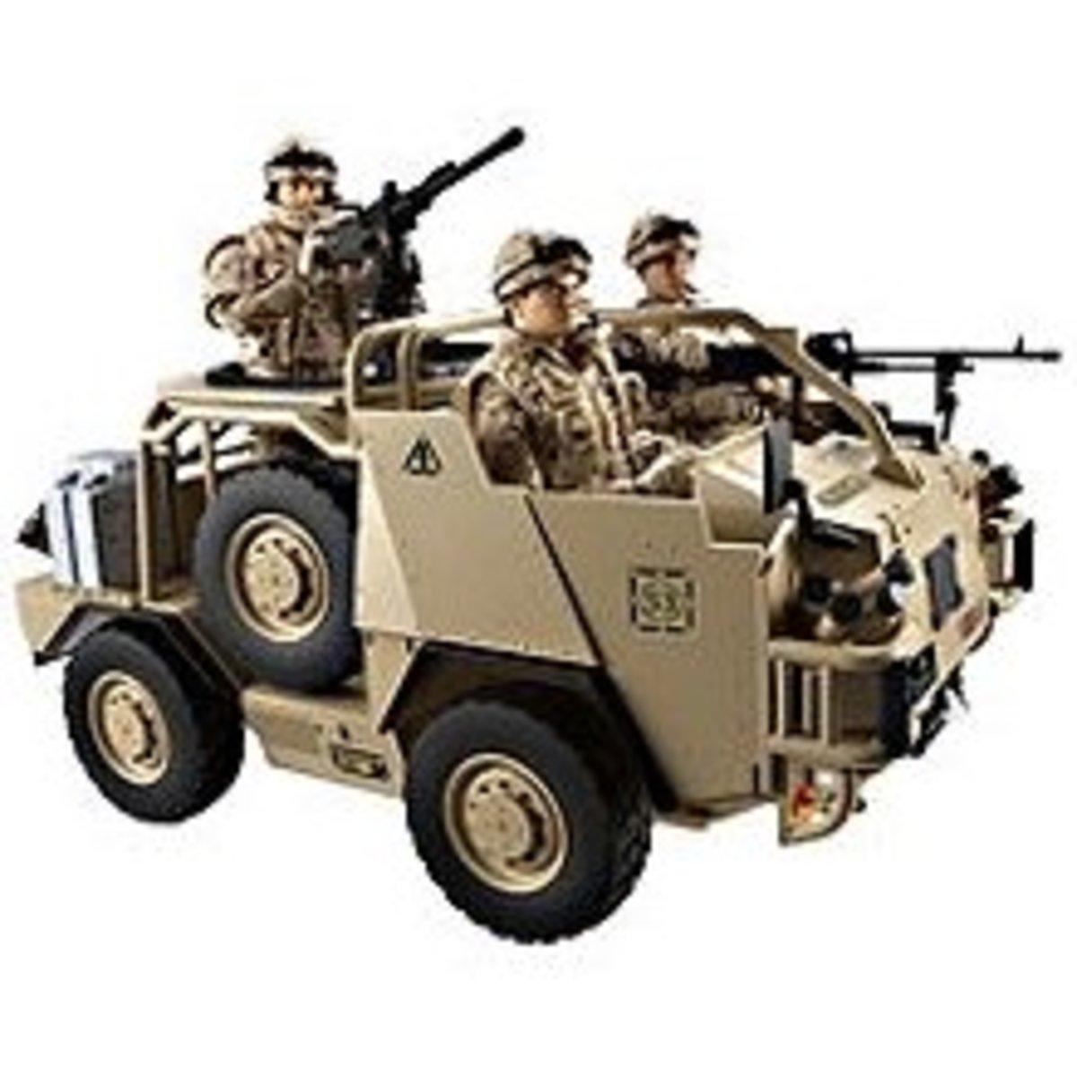 HM Armed Forces Jackal WMIK