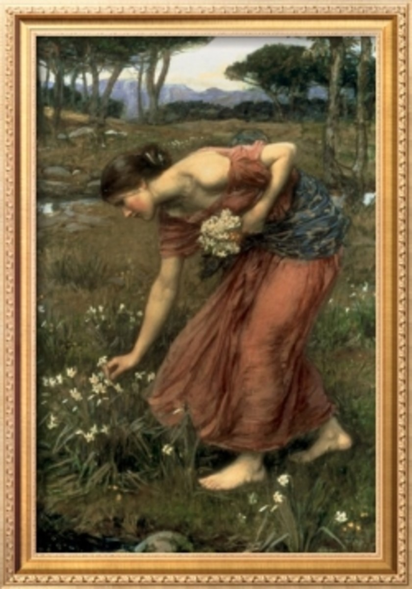 Narcissus by John William Waterhouse (1912)
