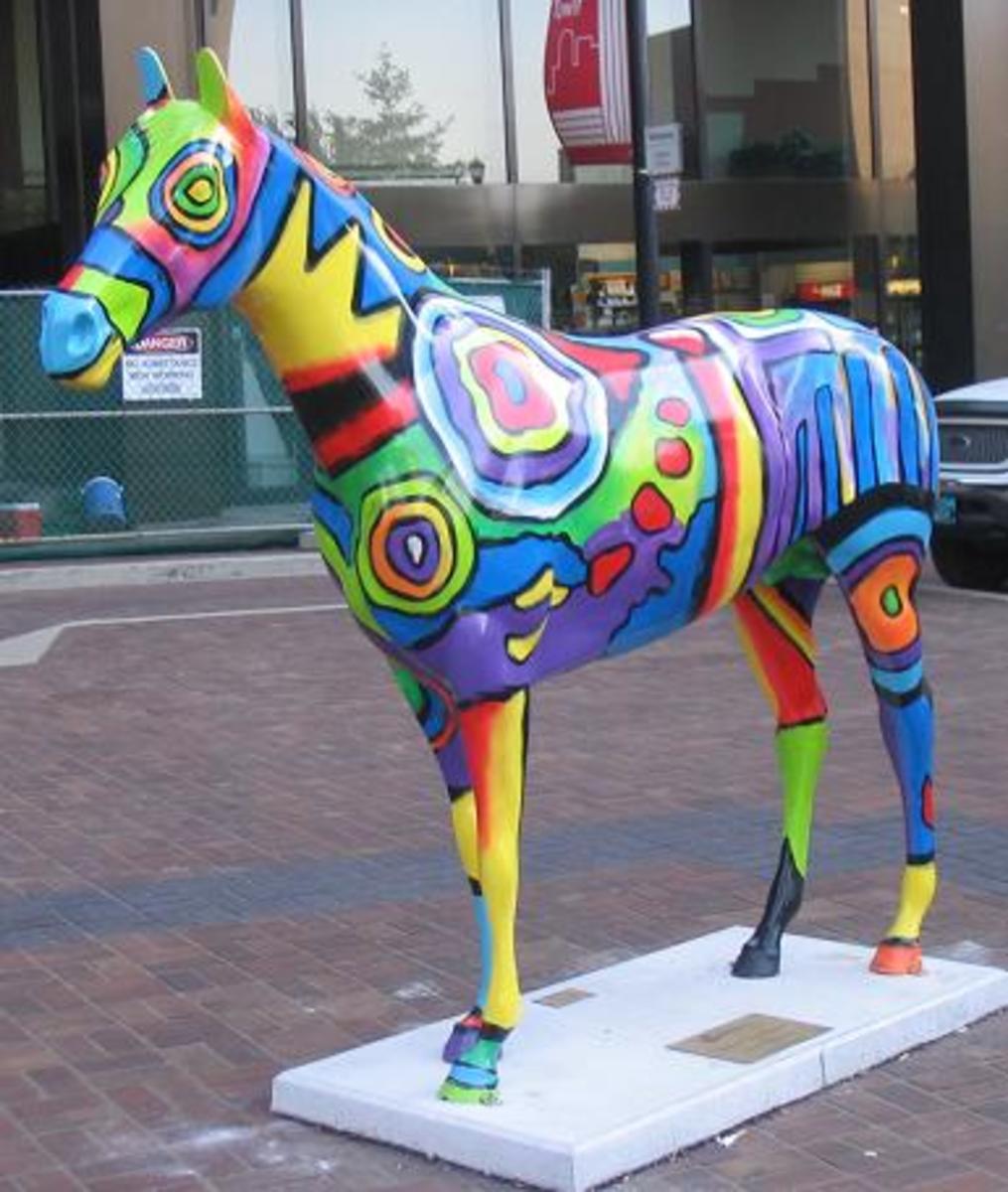 Sidewalk art projects